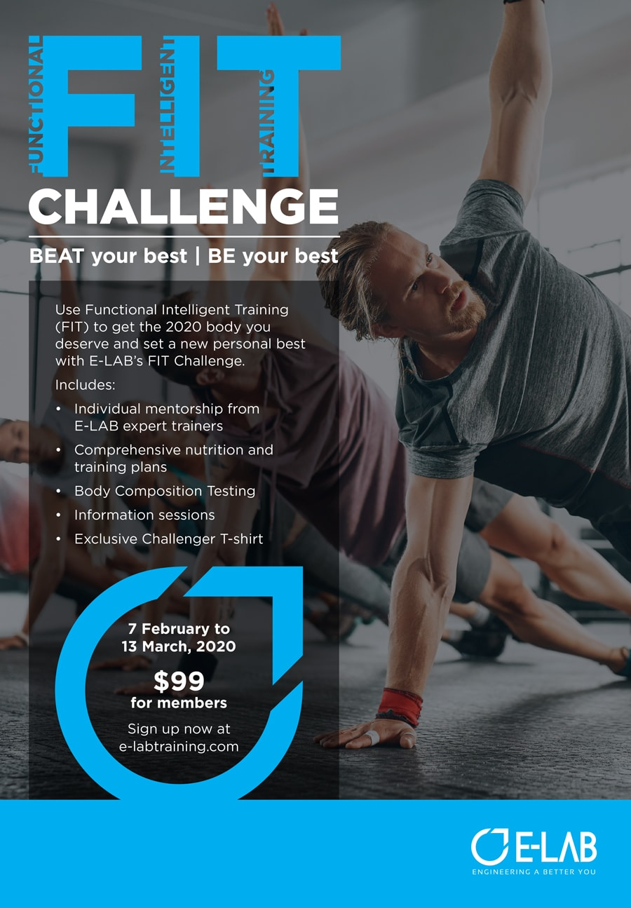 E-LAB FIT Challenge Poster