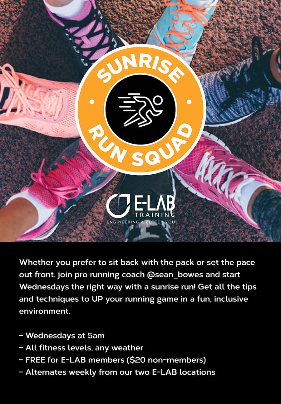 E-LAB run squad poster